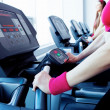 Girls in fitness center — Stock Photo #9900155