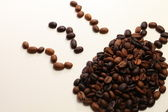 Coffee Beans forming Coffee Cup — Stock Photo