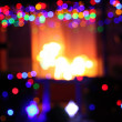 Out of Focus Christmas Lights — Stock Photo