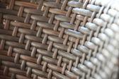 Rattan Ethnic Brown Weaved Pattern — Stock Photo