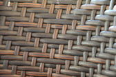 Rattan Ethnic Brown Weaved Pattern — Stock Photo