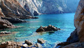 Glimpse of sardinian coast — Stock Photo
