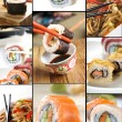 Sushi collection — Stock Photo