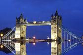 Tower Bridge with reflection — Stock Photo
