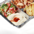 Royalty-Free Stock Photo: Greek gyros Shawarma