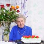 Elderly woman — Stock Photo #8885604