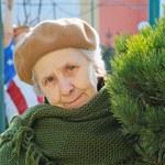Portrait pretty grandmother — Stock Photo #8885700