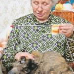 gato mentira da mulher de pernas — Foto Stock