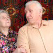 Stock Photo: Seventy year old couple