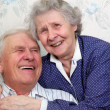 Stock Photo: Happy old couple