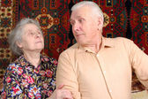 Seventy year old couple — Stock Photo