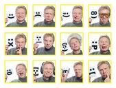 Emoční osoba — Stock fotografie