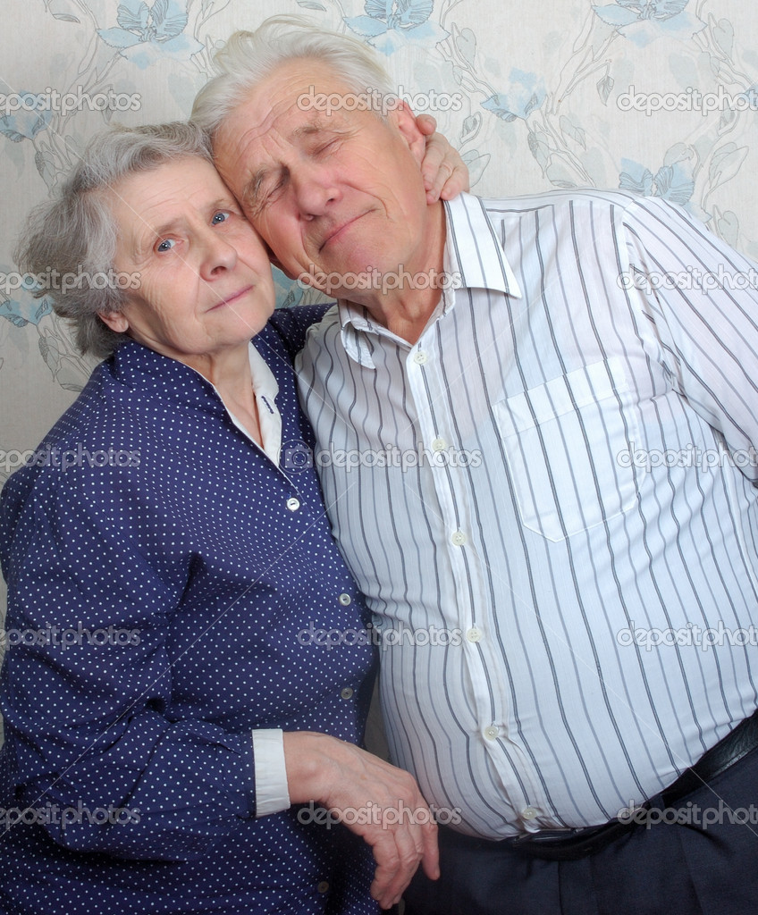 Happy old couple — Stock Photo #8886066