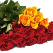 Big bouquet roses — Stock Photo #8914136