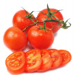 Few tomatos — Stock Photo