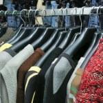 Few sweaters — Stock Photo #8914385