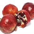Four pomegranate — Stock Photo #8914412