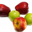 Stock Photo: Few apples
