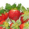 Stock Photo: Few strawberry