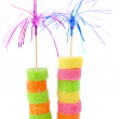 Two tower from sweet candy — Stock Photo #8914925