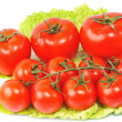 Stock Photo: Few tomatos