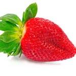 One ripe strawberry — Stock Photo