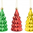 Christmas tree toys — Stock Photo