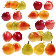 Set of fruits — Stock Photo