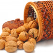 Nuts in basket — Stock Photo #8915879