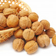 Nuts in basket — Stock Photo #8915906