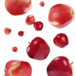 Flying red apples — Stock Photo #8916191