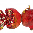 Two ripe pomegranates — Stock Photo