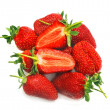 Stock Photo: Appetizing strawberry
