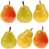 Fresh colorful pears — Stock Photo