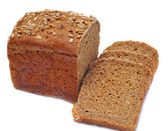 Ruddy loaf of bread — Stock Photo
