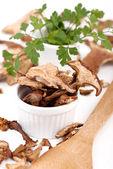 Dried mushroom — Stock Photo