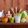 Ceramic kitchen tools — Stock Photo