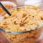 Corn flakes — Stock Photo #9715083