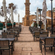 Minaret of roman period in caesarea — Photo
