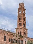 Ottoman landmark building - Han El-Umdan in Akko, Israel — Stock Photo