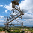 Stock Photo: Observation military tower