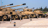 Memorial and the Armored Corps Museum in Latrun, Israel — Foto Stock