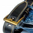 Royalty-Free Stock Photo: Jeans with belt