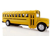 School Bus is Coming — Stock Photo