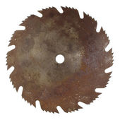 Old rusty saw blade — Stock Photo