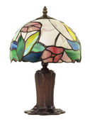 Small Leaded Glass Lamp — Stock Photo