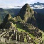 Typical view of Machu Picchu, Peru — Stock Photo #8446486