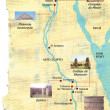 Stock Photo: Map of Egypt