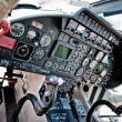 Royalty-Free Stock Photo: Dashboard of a helicopter