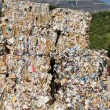 Recycling of waste paper — Stockfoto